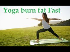 Yoga burn fat Fast - 1 Yoga Tip For a Tiny Belly - YouTube