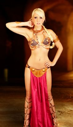 Top Cosplay Of The Week: Raychul Moore with Slave Leia Costume | Gaoom
