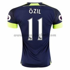 Arsenal Fotballdrakter 2016-17 Ozil 11 Tredjedrakt Arsenal, Champions, Third, Sports, Tops, Jacket, Hs Sports, Sport