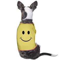 TvT Smiley Face Cute Positive Happy Smile Face Dog Hoodie ** New and awesome dog product awaits you, Read it now  : Dog Cold Weather Coats
