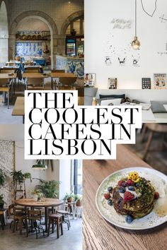 A Stylish Guide to the Coolest Cafes in Lisbon, Portugal - Live Like It's the Weekend