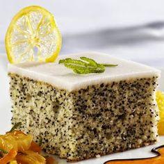 Webfőzöm: Mákos piskóta citrommázzal Hungarian Desserts, Hungarian Recipes, Food Cakes, Cupcake Cakes, Almond Cakes, Cake Cookies, Cake Recipes, Sweet Tooth, Bakery