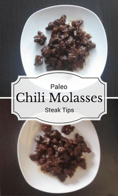 These Paleo Chili Molasses Steak Tips are an exciting twist on regular steak