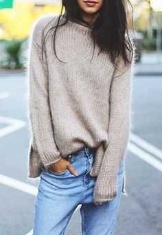 Neutral Chunky sweater