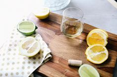 Enjoy the end of summer with a squeeze of fresh lemon or lime in any cocktail at your #eccodomanicelebration