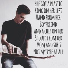 """""""Not My Type At All"""" by Jacob Whitesides"""