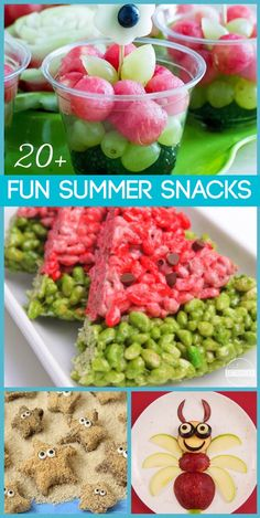 20 fun summer snacks for kids – so many, fun clever, and doable ideas kids will love! Kids activities for summer bucket list 20 fun summer snacks for kids – so many, fun clever, and doable ideas kids will love! Kids activities for summer bucket list Toddler Meals, Kids Meals, Snacks Kids, Preschool Snacks, Summer Kids Snacks, Summer Lunches, Diy Snacks, Camping Snacks, Rv Camping