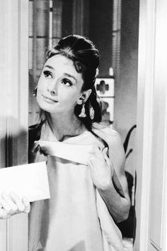 "Audrey Hepburn in ""Breakfast at Tiffany's"" dir. Blake Edwards (1961)."