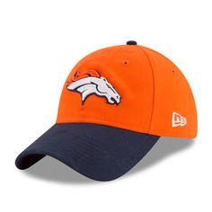 Women's Denver Broncos New Era Orange 2016 Sideline LS 9TWENTY Adjustable Hat
