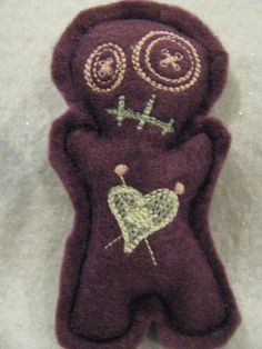 now THIS I could stick pins in! Voodoo Doll pincushion