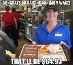 Economics...once again, let's bear this administration's stupidity on the backs of the middle class. SMH
