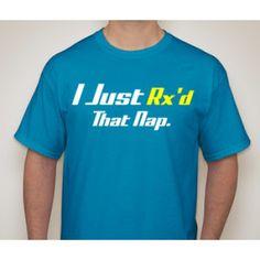 FitnessSanctum.com I Just Rx'd That Nap Men's CrossFit-style T-Shirts from G2OH -- $29---- (fitnessssanctum.com...)