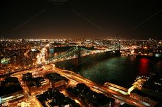 Check out Brooklyn Bridge from above photo by Kay English on Creative Market