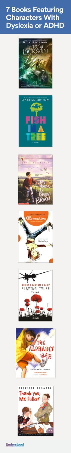 In books, the most compelling characters often remind us of ourselves. These great reads may resonate with kids with dyslexia or ADHD. That's because the heroes in these books share those challenges—and the triumphs that come with them.
