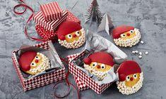 Nikolaus-Gesichter Rezept | Dr. Oetker Cookie Frosting, Biscotti, Xmas, Sugar, Cookies, Sweet, Desserts, Food, Breads