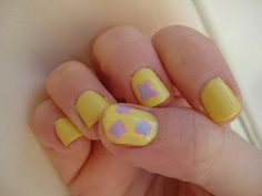 Fluttershy nails