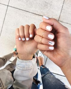 Mommy and me manis to get ready for Mother's Day  @bellacures