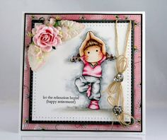Let the relaxation begin-Happy retierment by ClaudiafromGermany - Cards and Paper Crafts at Splitcoaststampers