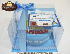 Baby Raphael manyue cake packaging