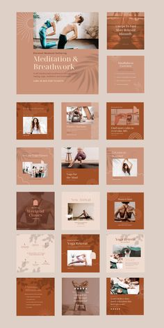 $25 · Bring harmony to your brand with the Yoga Social Feed Template, a divine set of 30 custom presets designed to give your social feeds a calming, earthy aesthetic. This robust collection of fully-customizable Canva templates allows you to easily create on-brand social content to drive traffic, increase engagement, and promote tranquility. Pilates Machine, Instagram Feed, Instagram Posts, Instagram Post Template, Business Branding, Master Class, Lightroom Presets, Calming, Earthy