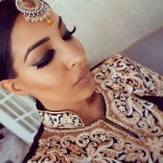 """#makeup #arabinspired #bblogger #farahdhukai #indian #desi"" Photo taken by @farahdhukai on Instagram, pinned via the InstaPin iOS App! http://www.instapinapp.com (11/23/2014)"