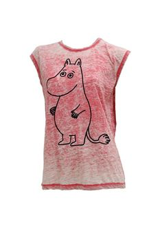 Moomin t-shirt. Shop: http://shop.ivanahelsinki.com/collections/moomin-by-ivana-helsinki/products/moomin-red