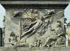 Ancient Roman Relief.