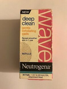 Neutrogena Wave Deep Clean Foaming Pads Refill (1 Box = 30 Pads)  | eBay Face Mapping, Acne Causes, Nude Makeup, Hormonal Acne, Body Organs, How To Get Rid Of Acne, Contouring And Highlighting, Neutrogena