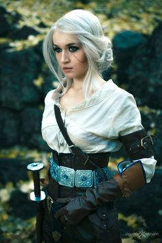 This Witcher 3 Ciri Cosplayer Looks Like She Stepped Out Of The Game