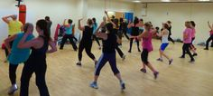 Brilliant atmosphere in Zumba this morning at Midsomer Norton Sports Centre. Always great to see a full class:)