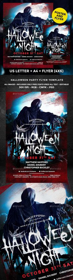 Halloween Zombie Party Poster Zombies, Fonts and Halloween zombie - zombie flyer template