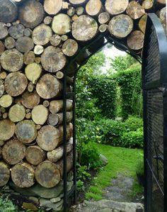 firewood gate