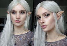 Elvish makeup look