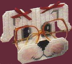 Items similar to Peeper Keepers Annie's Attic Vintage Plastic Canvas Eyeglass Holders Pattern Booklet on Etsy Plastic Canvas Tissue Boxes, Plastic Canvas Crafts, Plastic Canvas Patterns, Plastic Craft, Plastic Canvas Stitches, Plastic Mesh, Tissue Box Covers, Yarn Over, Cross Stitching