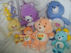 Carebear Wholesale Lot Stuffed Plush Funshine Friend Share Bedtime Day Dream | eBay