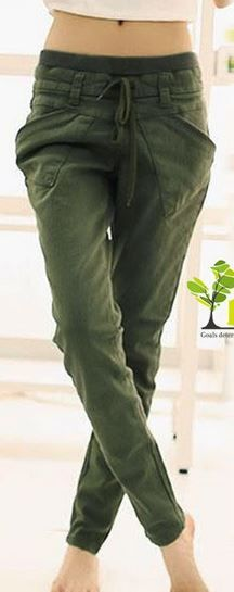 Please look at the last picture for measurements for each size.  100% Brand New Material: cotton blend 3 colors available: Army Green, Black, Khaki 5 Sizes available: S, M, L, XL, XXL  Please ignore the tag size that comes with the pants. The tag size sometimes can be a larger than our des...