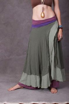 Sylph Dancing Pixie Designs Wrap Skirt - with a much longer shirt though