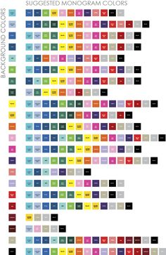 exotic color schemes, color combinations, color palettes for print