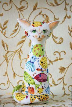 Коллекционные куклы ручной работы. Кот № 5. Надежда Панина. Интернет-магазин…