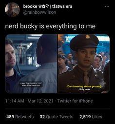 Marvel Show, Marvel Dc Comics, Marvel Heroes, Marvel Avengers, Funny Marvel Memes, Marvel Jokes, Avengers Movies, Marvel Characters, Bucky Barnes