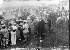 Federals and US Troops - 1915