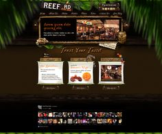 Web Design: Reef Road Restaurant by VictoryDesign on DeviantArt