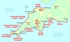 South West Coast Path, UK - 630 miles