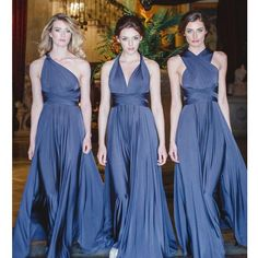 Versa Convertible Long Jersey Dress Style W10502   Pinterest     Versa Convertible Long Jersey Dress Style W10502   Pinterest   Bridal  parties  Wedding and Weddings