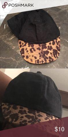 Leopard print baseball dad hat Leopard print baseball dad hat Forever 21 Accessories Hats