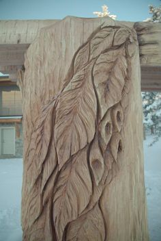 Take a closer look at the beautiful trellis designed by master carver Ken Sheen for Doug and Sharon Barr.