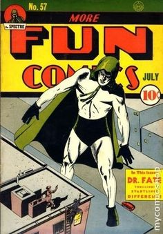 MORE FUN COMICS 57, THE SPECTRE, GOLDEN AGE DC COMICS