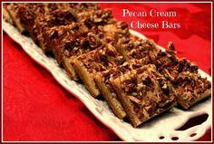 Pecan Cream Cheese Bars