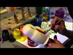 Мастер-класс роспись Матрешки. Часть 1 - YouTube-Master class painted Matryoshkas. part 1
