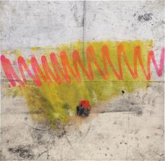 OSCAR MURILLO Untitled spray paint, oil, graphite and tape on canvas 80.2 x 82.4 cm (31 5/8 x 32 1/2 in.) Executed in 2012.